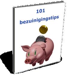101 Bezuinigingstips ebook cover
